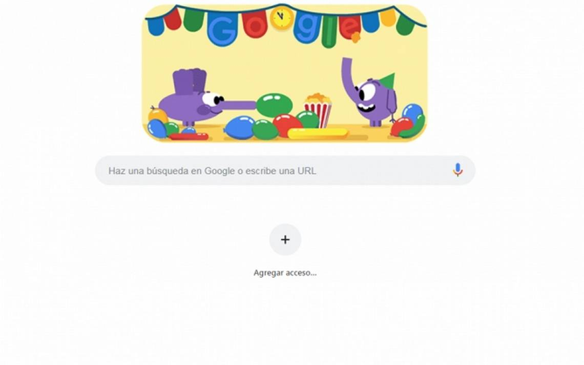 googlehaz una búsqueda en google o escribe una url